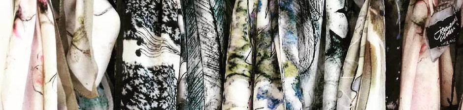 luxury silk scarf designer