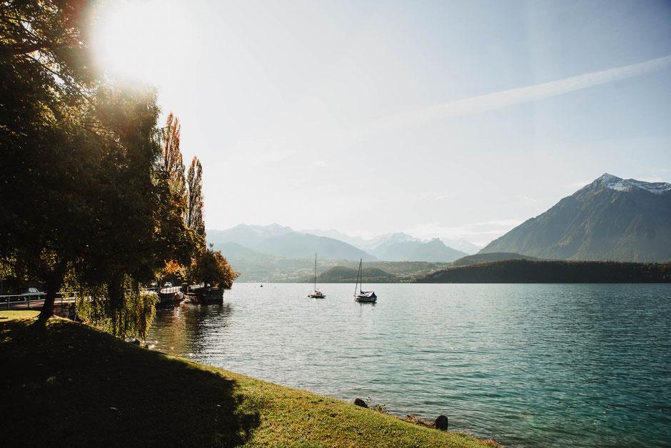 lake switzerland zwitserland meer bergen herst reisfotografie