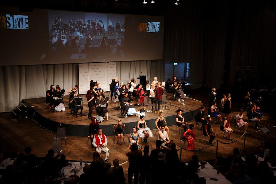 Createam Coiffure Haas GmbH- Hair Style Event 2015 Kursaal Bern