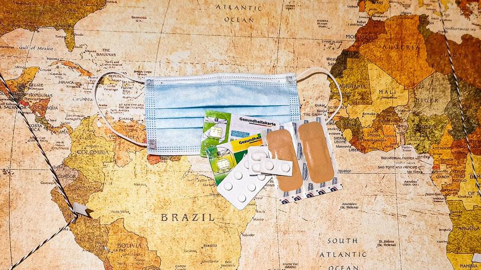 Auslandskrankenversicherung Weltreise