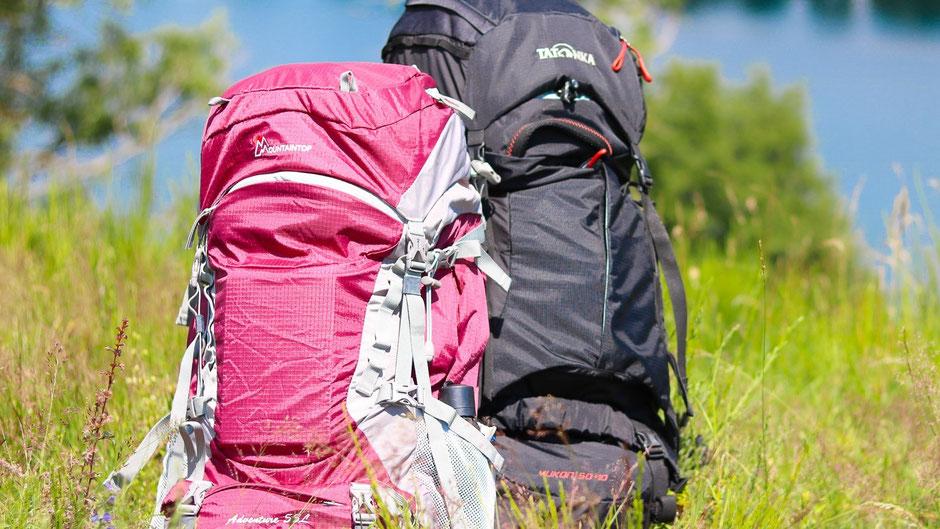 Backpack für eine Weltreise