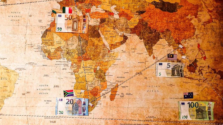 Reiseziele auf Weltreise