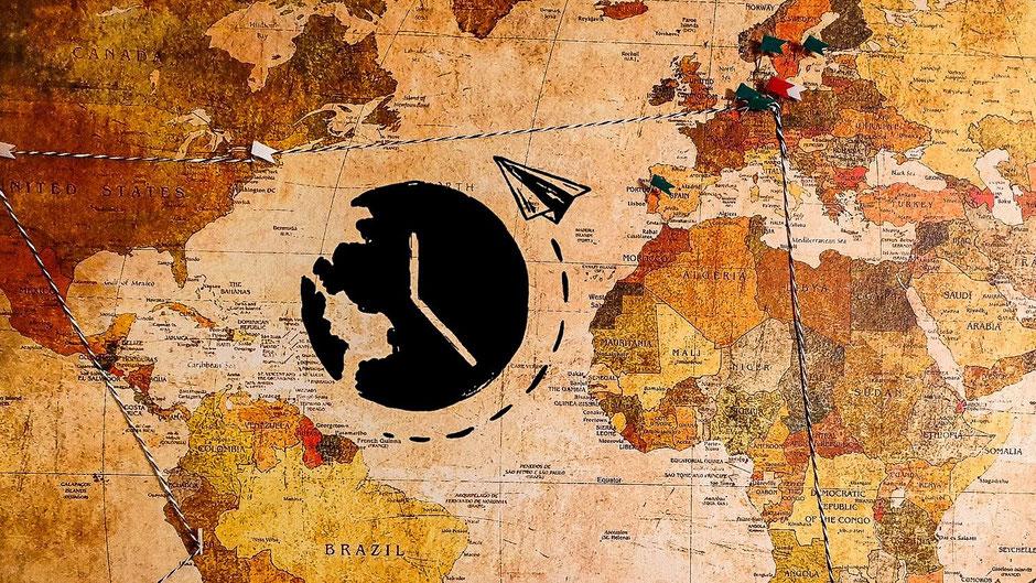 Around the World Ticket Weltreise
