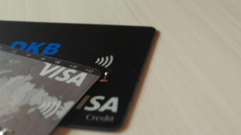 Kreditkarte für Weltreise
