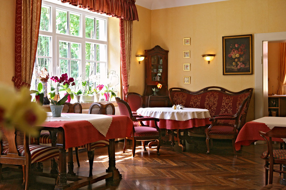 Unser Frühstücks- und Café-Raum