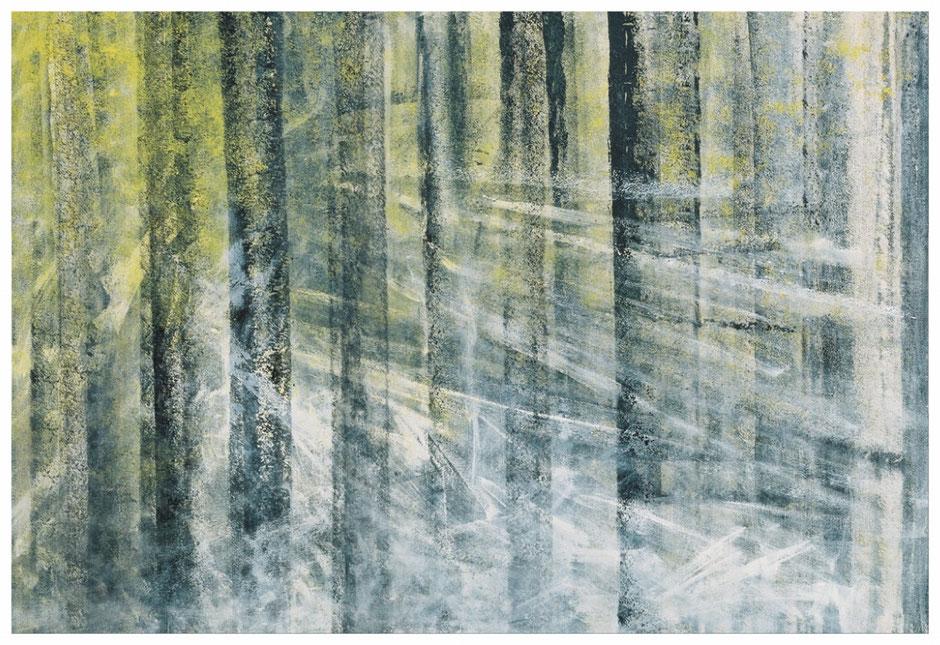 Als ich am Wald sass, 80x115cm, Copyright by Martin Uebele