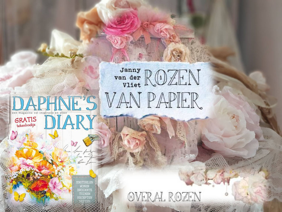 Janny' rozen in de Daphne's Diary april 2019