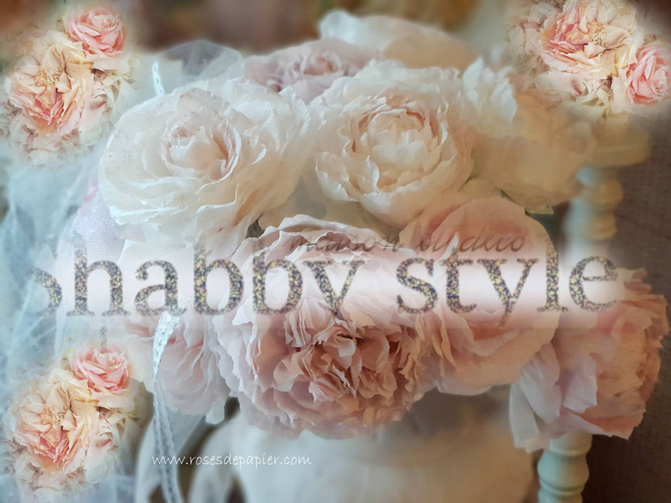 Mijn rozen ook in het franse magazine Shabby Style mei/juini 2019.