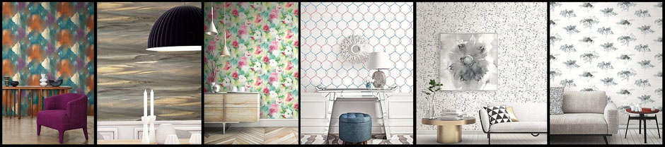 L'Atelier de Paris wallpaper collection: Seabrook