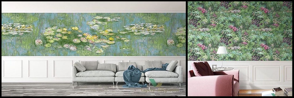 Wallquest's new collection French Impressionist