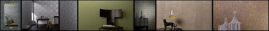 Marburg's new collection Tango designed by Dieter Langer
