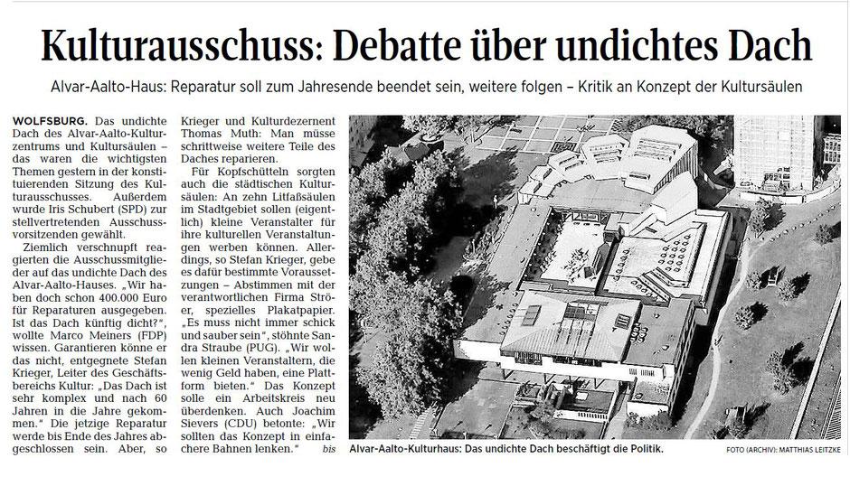 Wolfsburger Allgemeine Zeitung, 24.11.2016