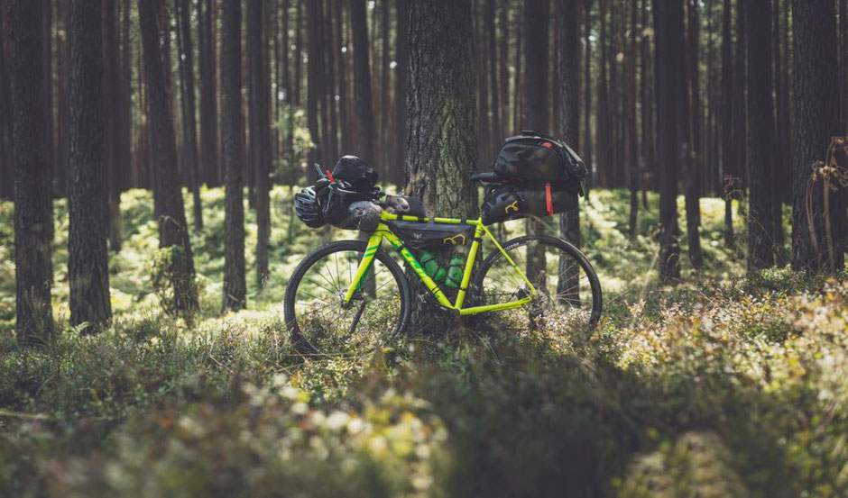 vélo vert bikepacking