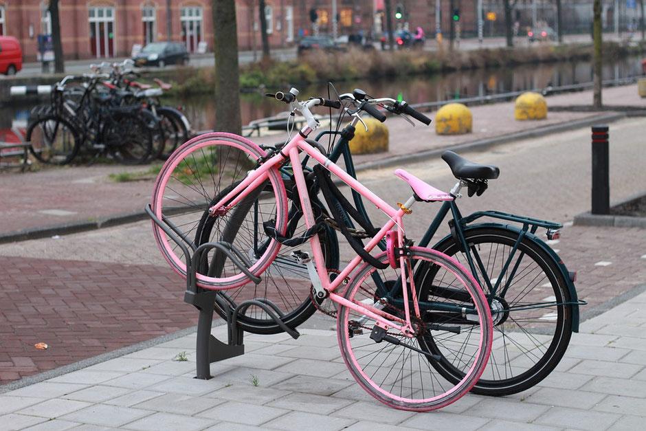 vélo fixi rose occasion