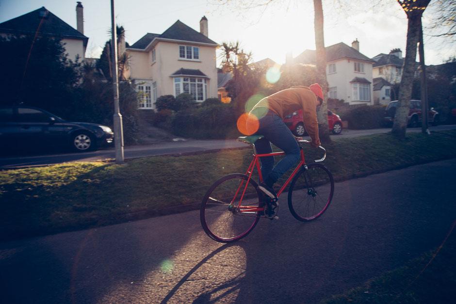 vélo de course d'occasion rouge homme