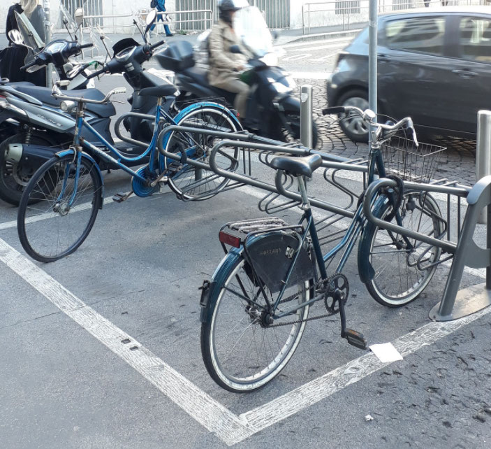 parking vélo milan
