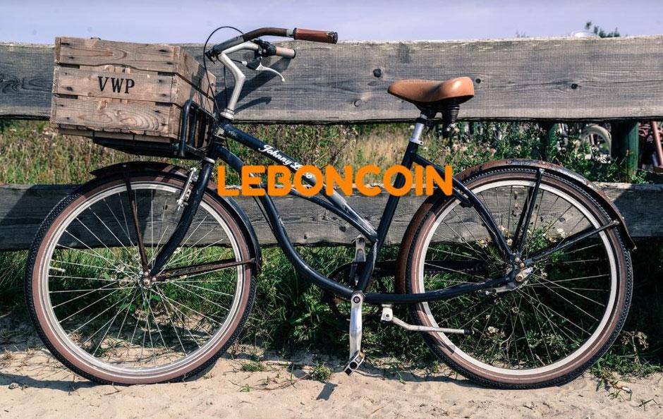 Vélo beach cruiser leboncoin