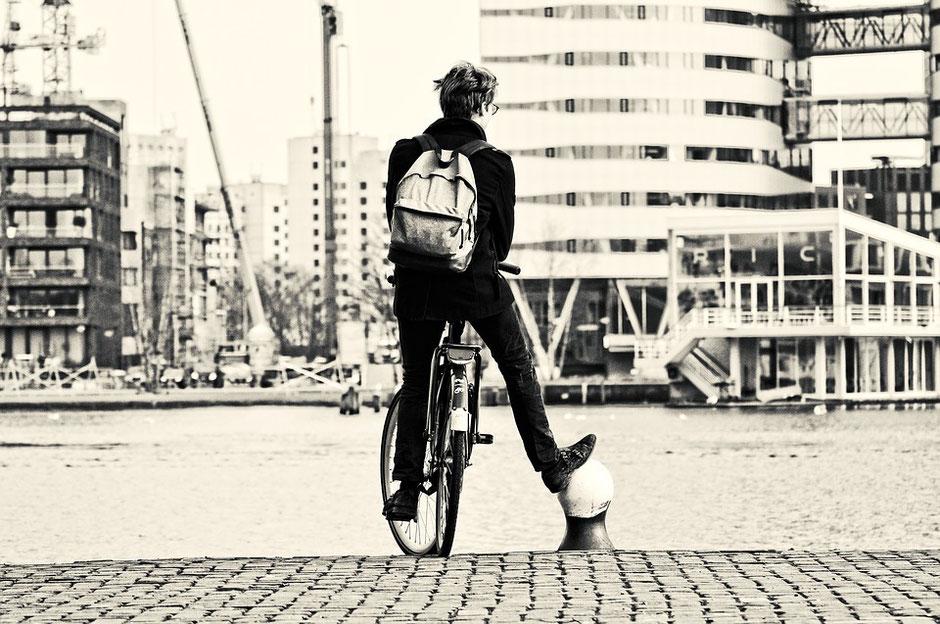 vélo vintage homme cadre reconversion