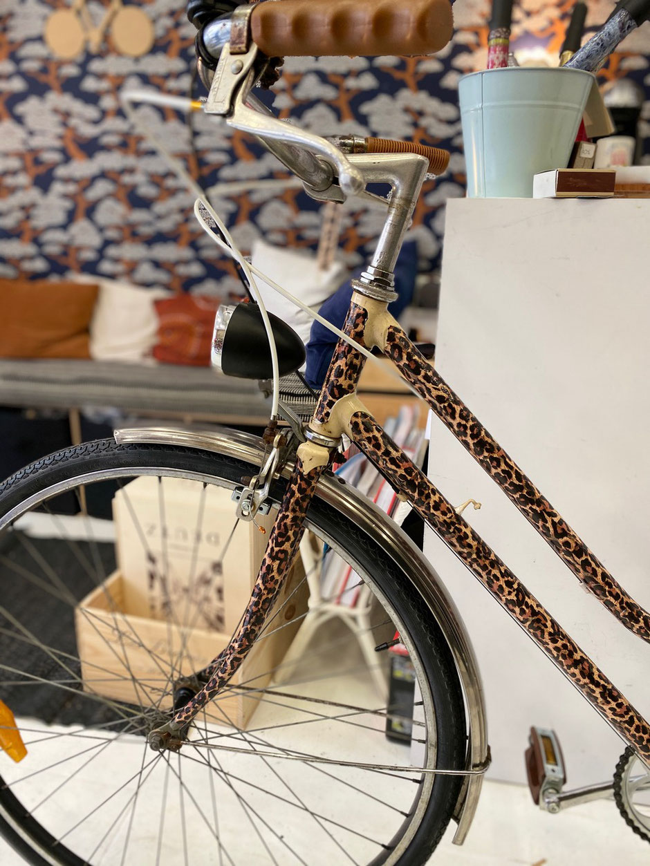 Vélo vintage pantere