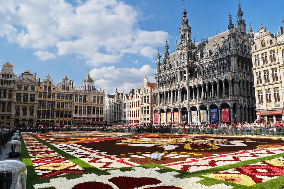 Bruxelles, une ville pleine de charme.