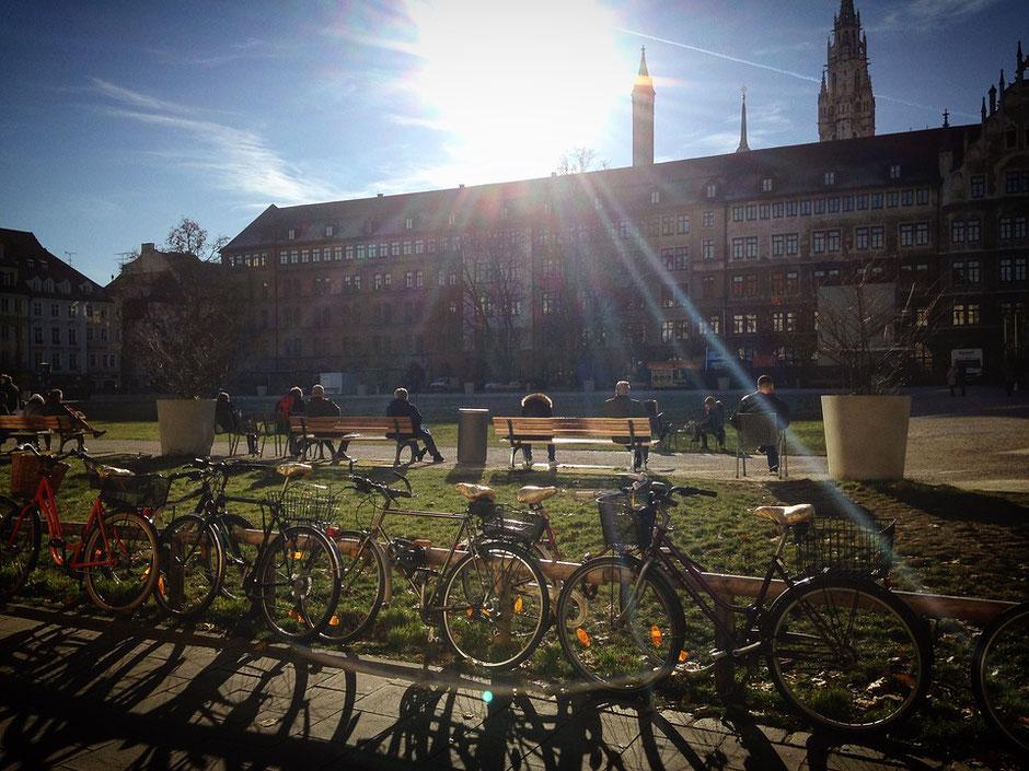 Rayon de soleil vélos d'occasion jardin