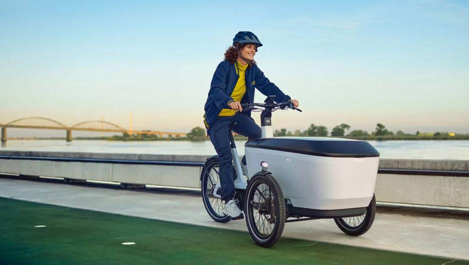 vélo cargo électrique volkswagen