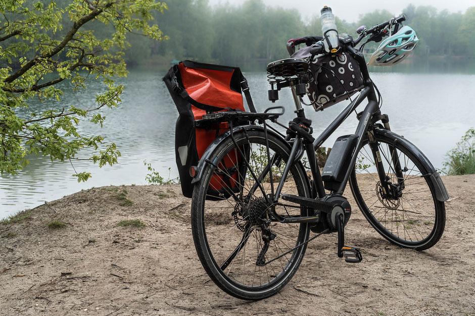 vélo de voyage électrique