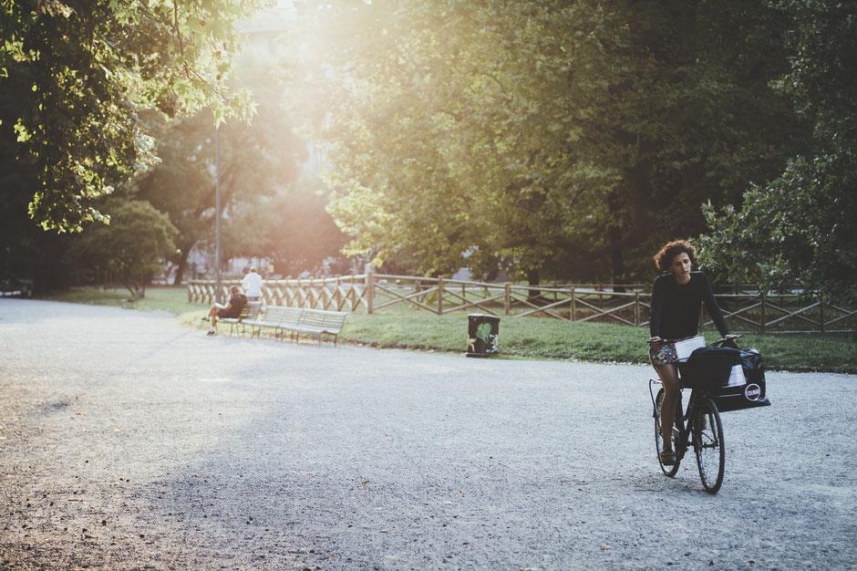 ballade en vtc dans un jardin paris