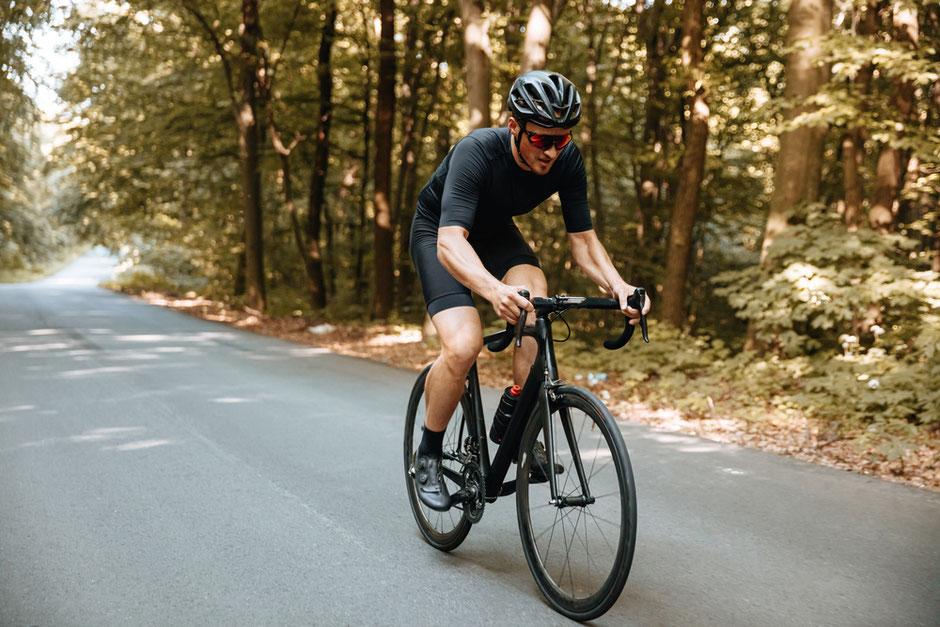 vélo de course noir