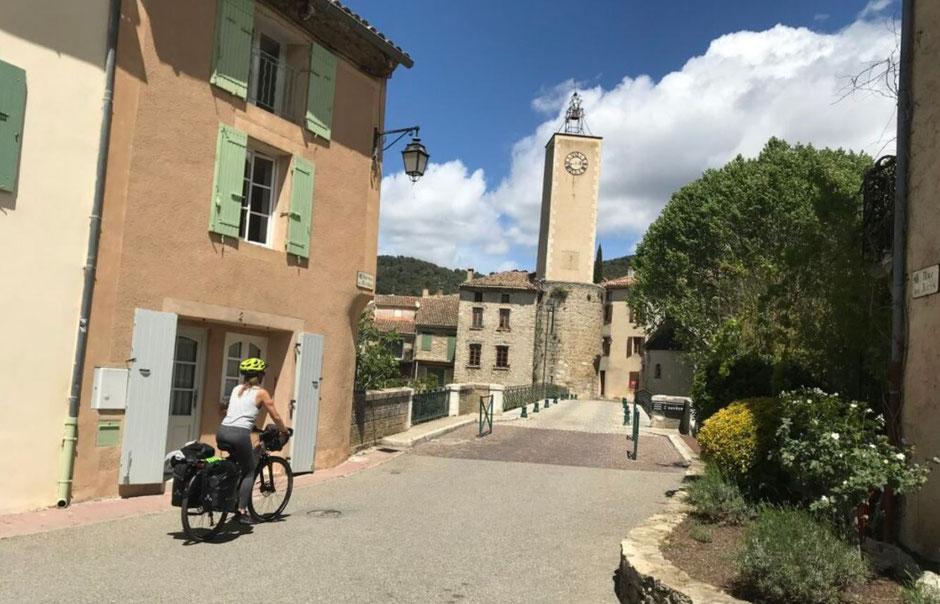 voyage à vélo sud de la France