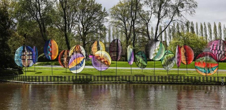 KYRIELLE,  Jardin des Arts,  Chateaubourg, mai 2012