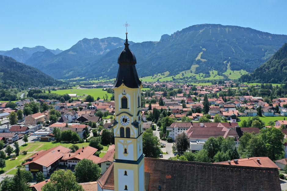 Unser wunderschönes Dorf Pfronten im Allgäu