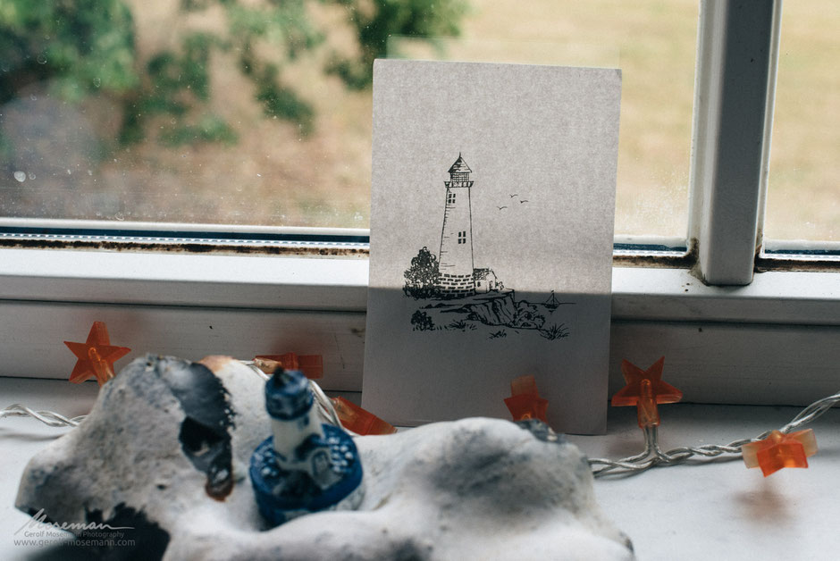 Window picture. And the lighthouse everywhere
