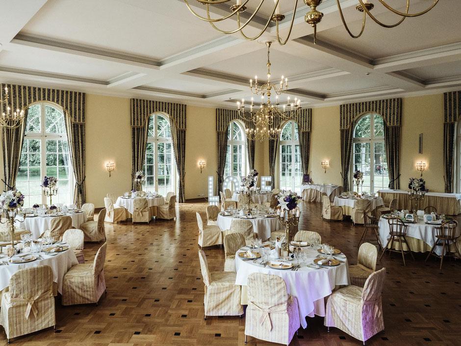 Dekoration Hochzeit Schloss