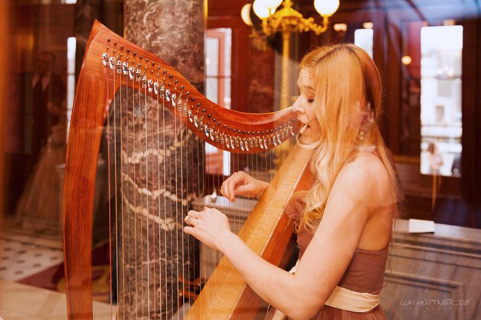 Freie Trauung - Harfe