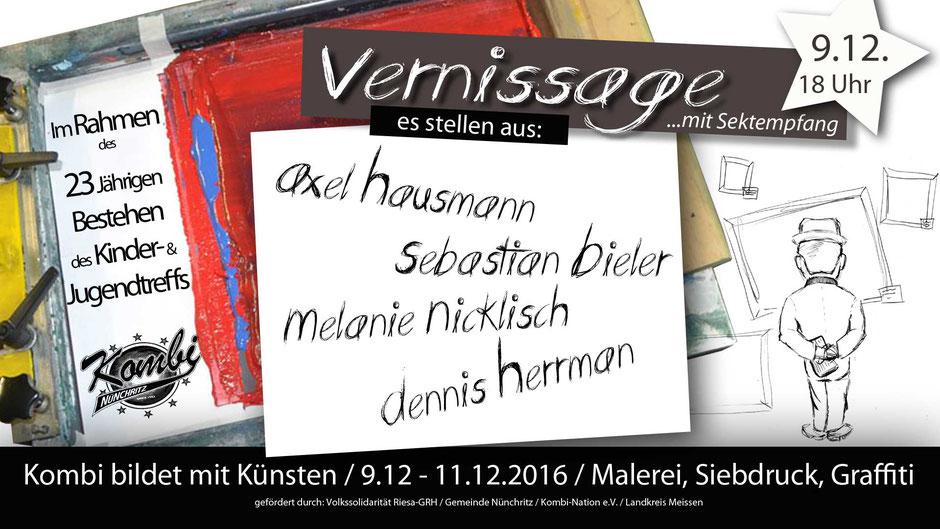 Ausstellung in Nünchritz
