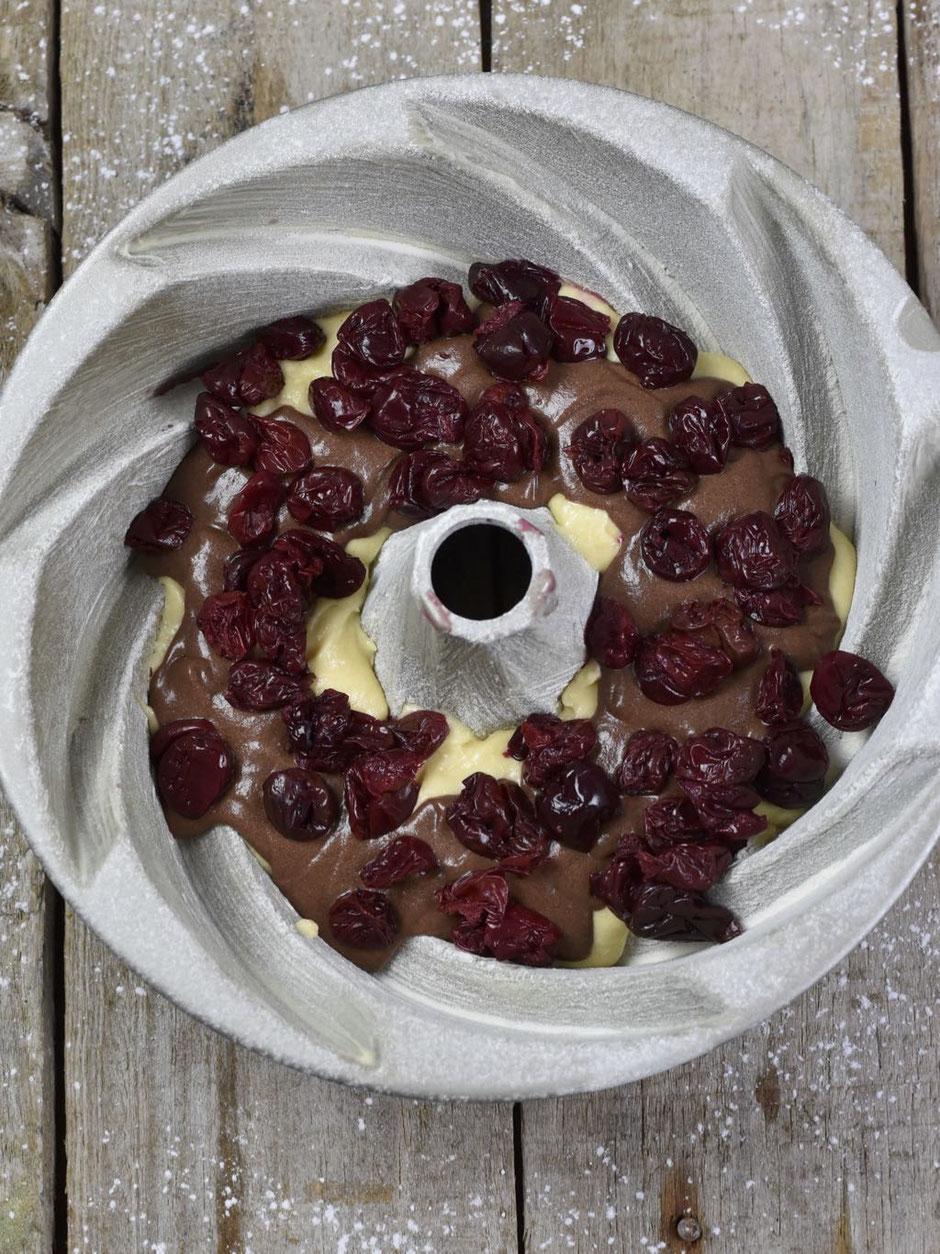 Kirsch-Schoko-Marmorkuchen
