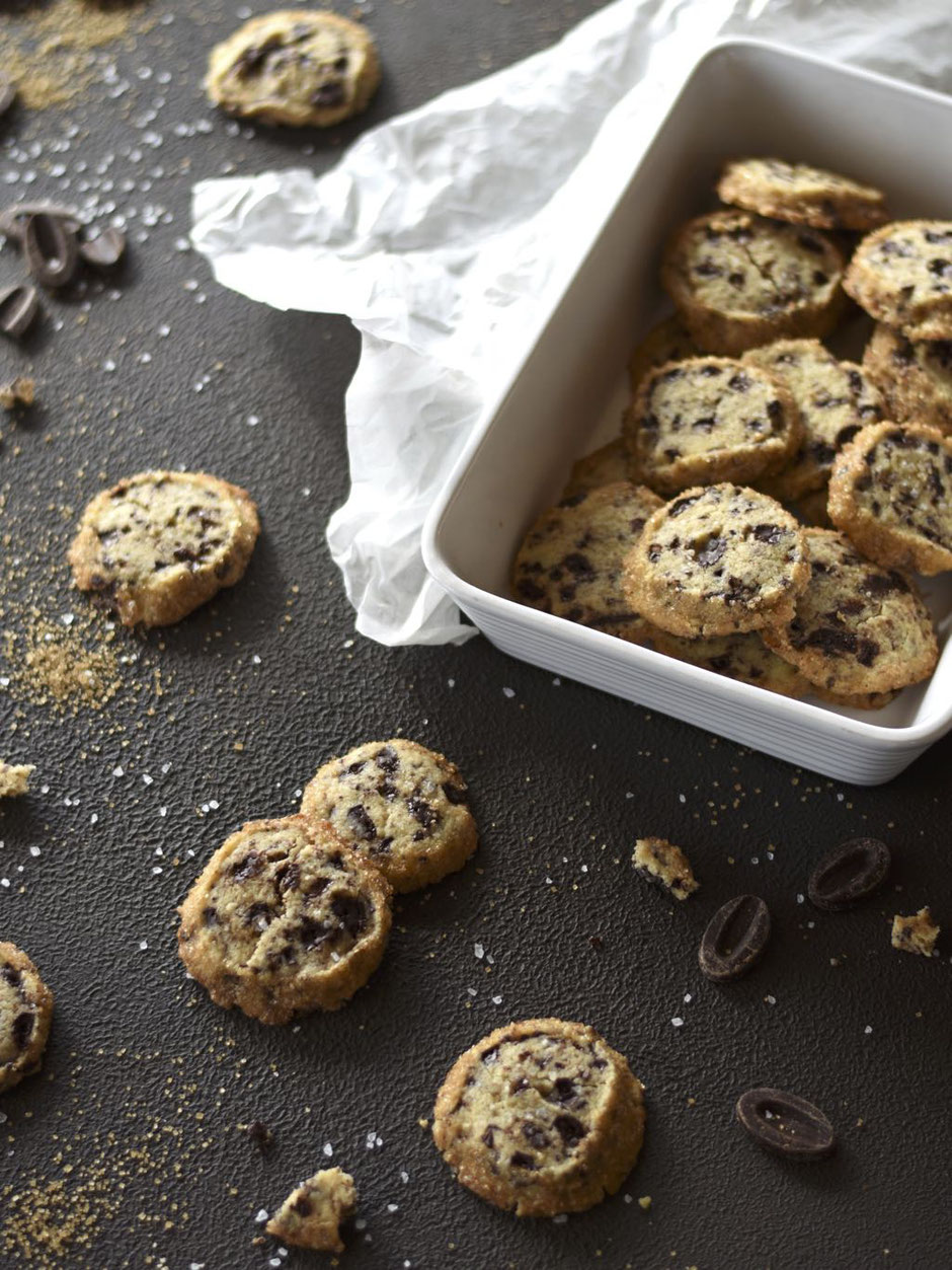 SALTED CHOCOLATE COOKIES
