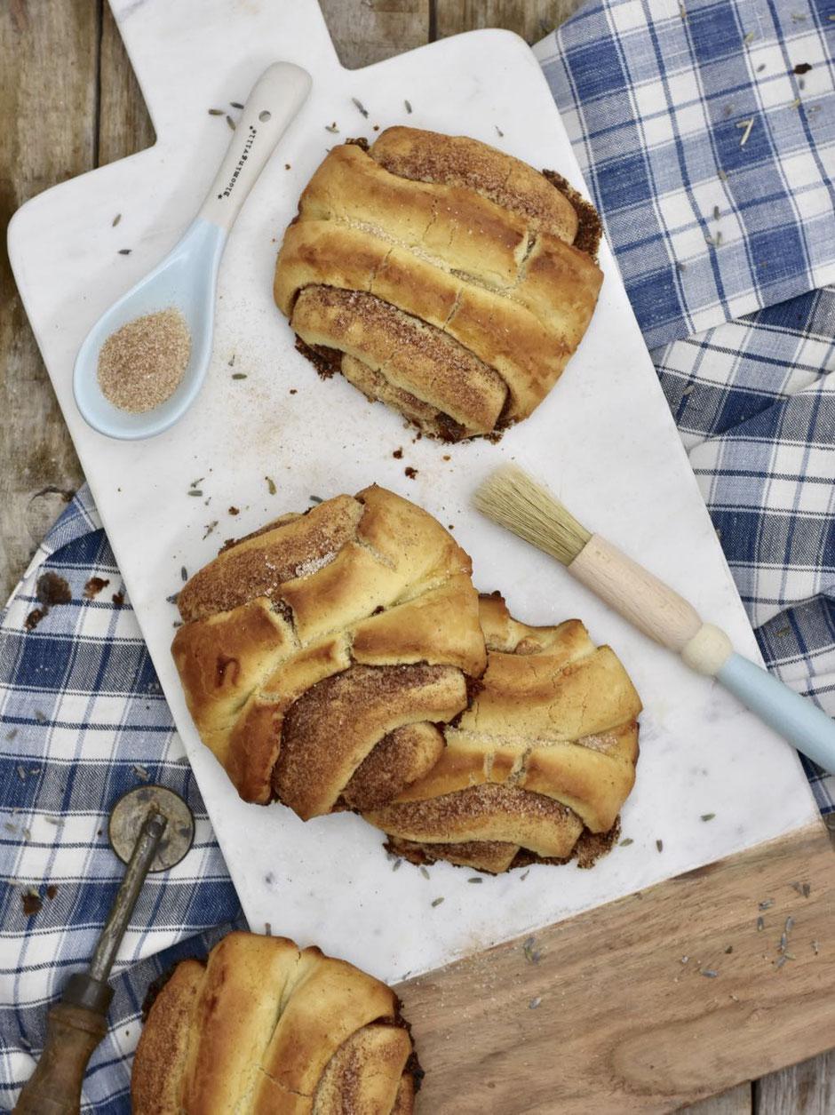 Glutenfreie Franzbrötchen