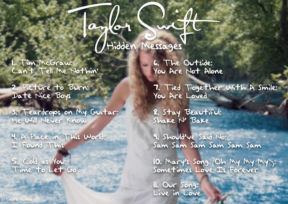 """""""Taylor Swift"""" Hidden Messages"""