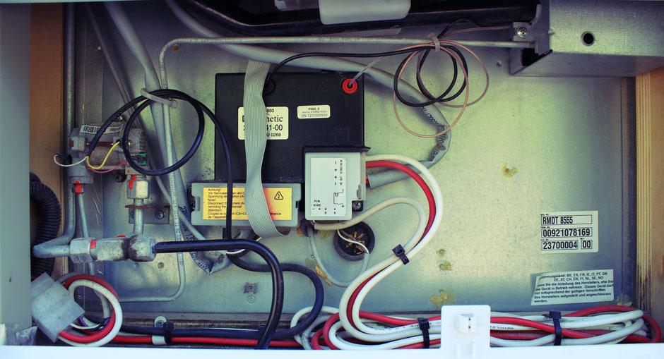 Wohnmobil Kühlschrank Wartung