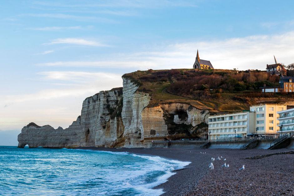 Strand, Normandie, Etretat,