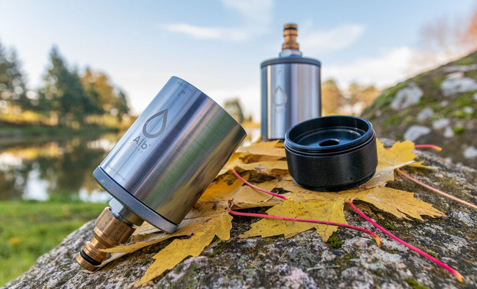 Camping Wasserfilter, Alb Fusion mobil, travel Alb Fusion, Wasserfilter fürs Wohnmobil