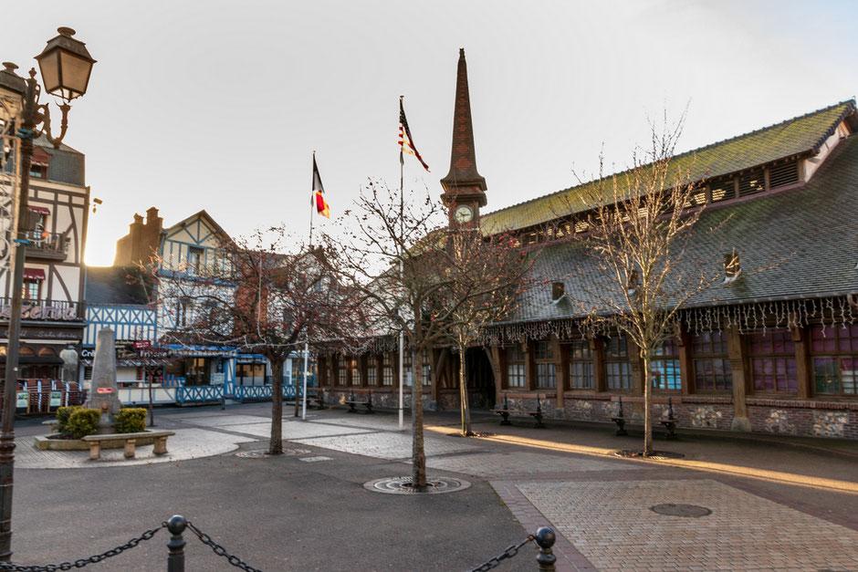 Markthalle Etretat Normandie
