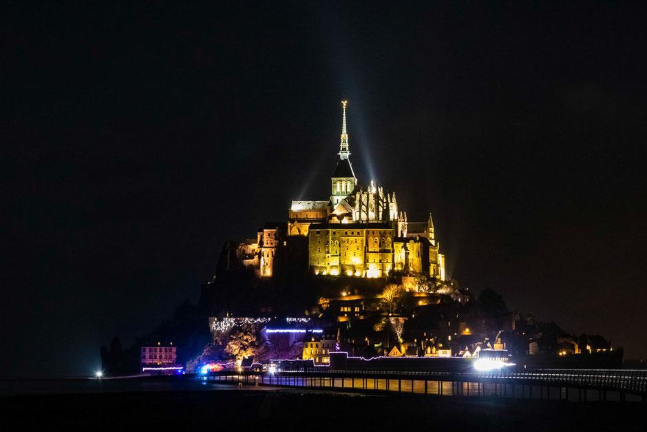 Mit dem Wohnmobil durch die Normandie, Le mont saint michel
