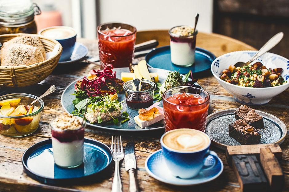 Küche vom Feisten – gesund und bio. Im Öko-Restaurant Langhoff og Juul im dänischen Aarhus. Foto: PR/Raisfoto