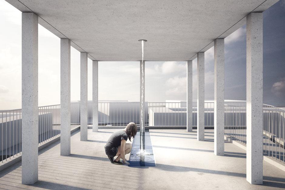 Impression der neuen Kirche im Sydhavn, sprich: Südhafen von Kopenhagen. Foto: JAJA Architects/PR.