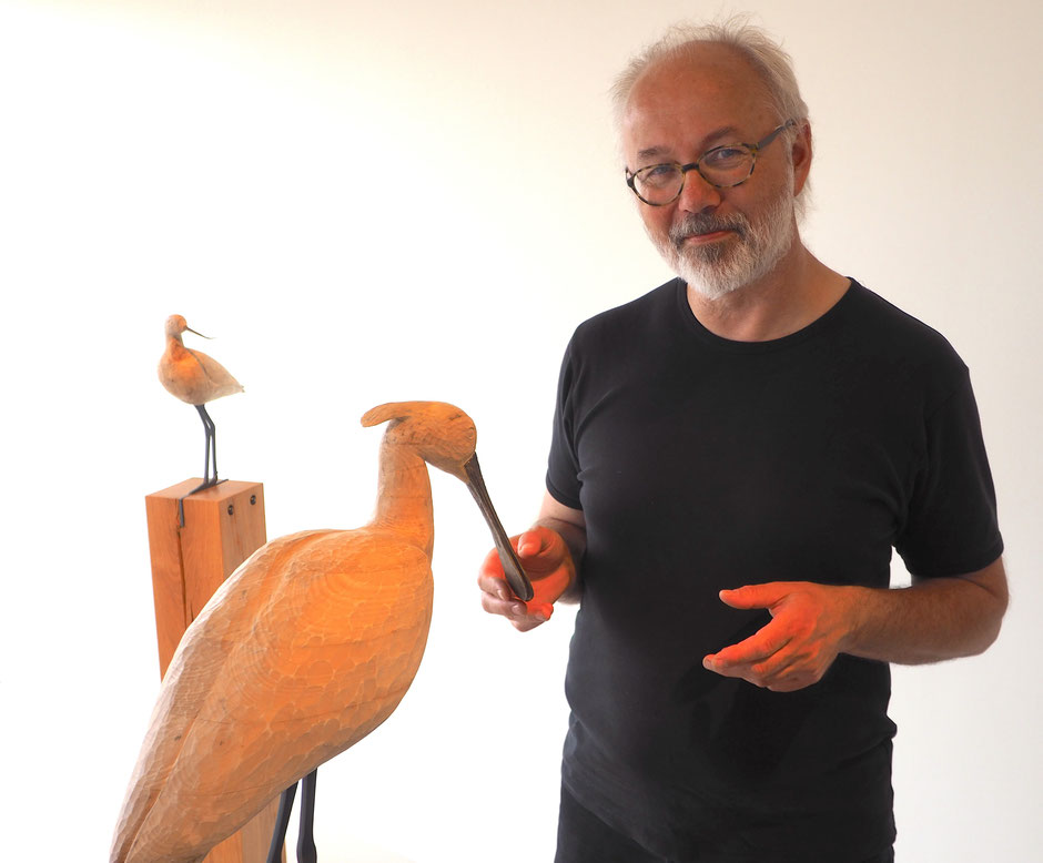 Klaus Melbye – seit 25 Jahren Naturguide und Direktor des Wattenmeercenters. Foto: C. Schumann, 2017