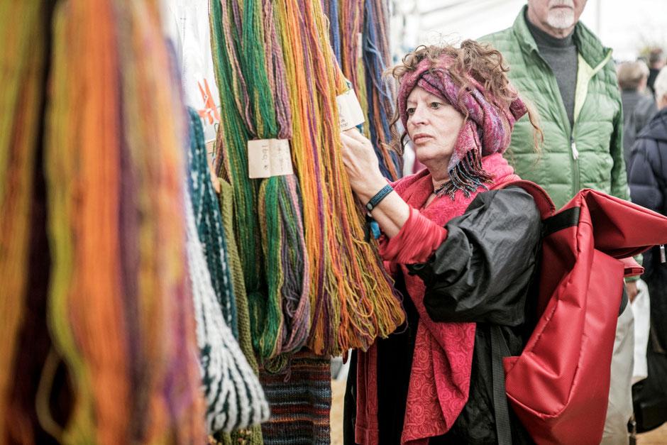 Wolle und Selbermachen –beim Strickfestival auf der dänischen Insel Fanø. Foto: PR/VisitDenmark