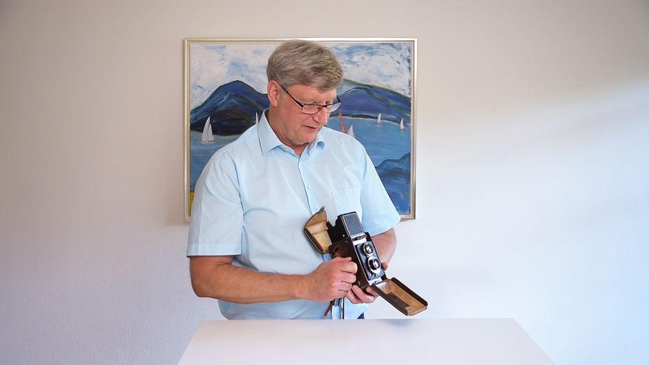 Beispiel Szene, Video-Recording-Stand, Mischlicht, Dr. Ralph Oehlmann, Oehlmann-Photography